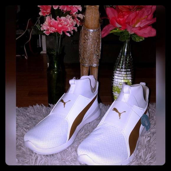 Puma Rebel Mid women's sneakers NWT